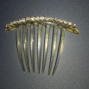 Vintage Rhinestone Hair Comb